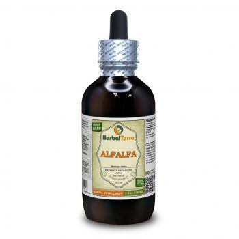 Alfalfa (Medicago sativa) Tincture, Organic Dried Leaf Liquid Extract